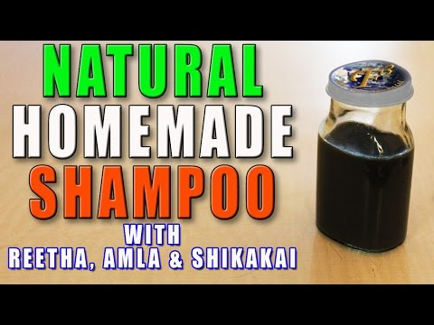 DIY-Natural Homemade Hair Shampoo II घर का बना प्राकृतिक शैम्पू II
