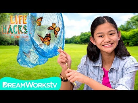 Homemade Butterfly Catcher + Other Outdoor Hacks | LIFE HACKS FOR KIDS