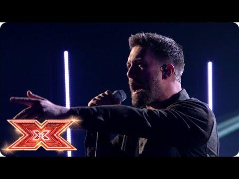 Matt Linnen performs Rolling Stones classic! | Live Shows | The X Factor 2017