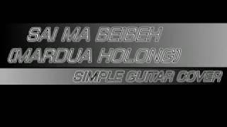 Mardua Holong Fingerstyle Gitar Cover (Trio Omega)