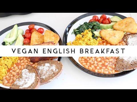 How To Make Vegan English Breakfast (EPIC VEGAN BREAKFAST)   Szilvia Bodi
