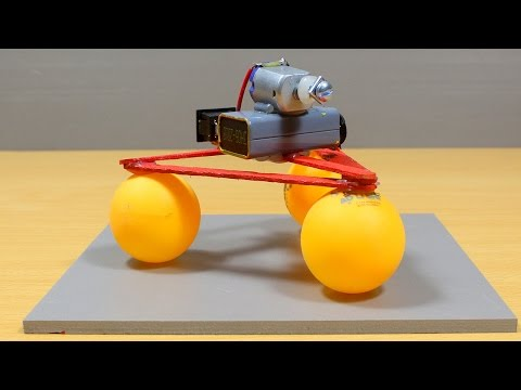 How to make a Robot using Ping Pong Balls - Very Simple