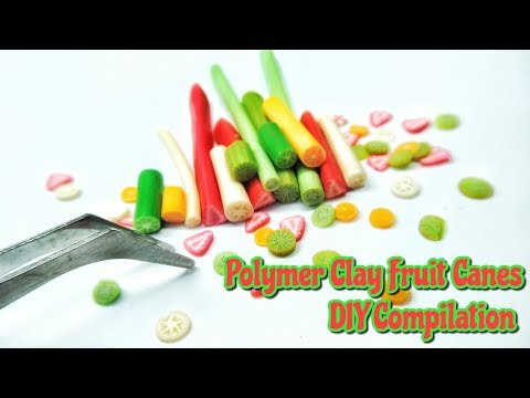 DIY Fruit Cane Tutorial : Fimo Cane Tutorial : Polymer Clay Tutorial : Andisa Charms
