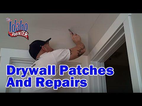 Repairing A Drywall Nail Pop.  Tips repairing drywall, wallboard, or plaster.  Sheetrock Repairs.