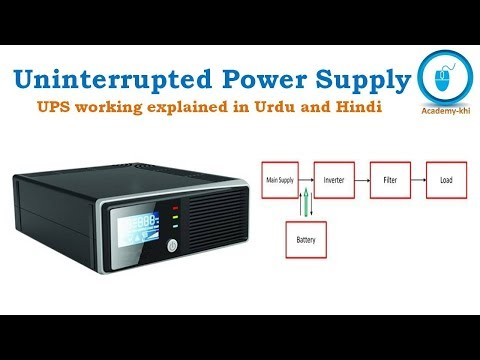 Uninterrupted Power Supply UPS in Urdu and Hindi