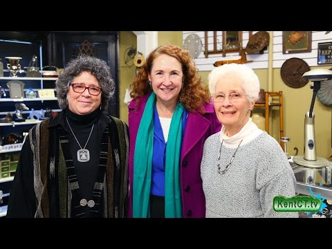 Congresswoman Elizabeth Esty - Shop Local in Kent, CT 3-25-17