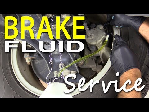 Brake Fluid Flush DIY (Service) for VW and Audi