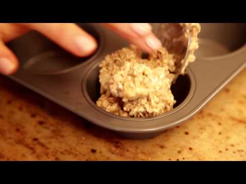 PhytoPro-V High-Protein Banana Apple Quinoa Muffins