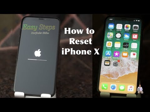 How to Reset iPhone X to Factory Settings | Original Settings