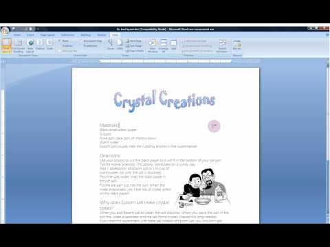 Insert Pictures, Create Text Boxes, and Select Text Wrapping