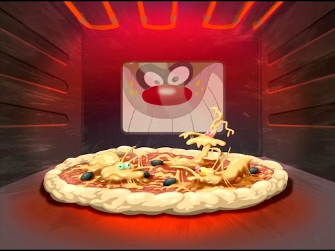 Oggy and the Cockroaches - Fancy a pizza? (S3E28) Full Episode HD