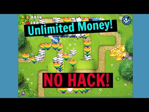 UNLIMITED MONEY AND LEVEL UP SUPER FAST! | BTD 5 | NO HACK!