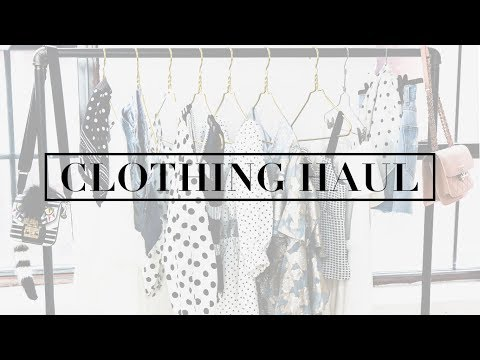 Spring Style Try-On Haul + Review