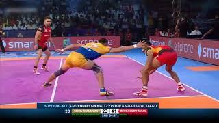 Tamil Thalaivas   Ajay Thakur 's Super 10 vs Bengaluru Bulls   Kabaddi