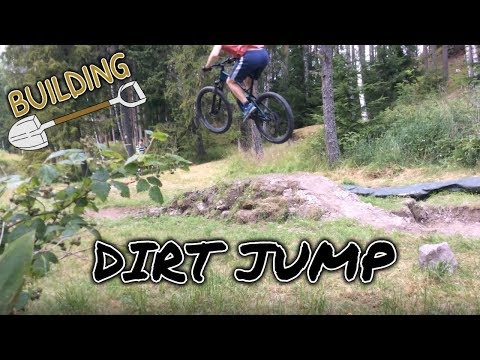 Building A Backyard MTB Dirt Jump