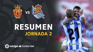 Resumen de RCD Mallorca vs Real Sociedad (0-1)