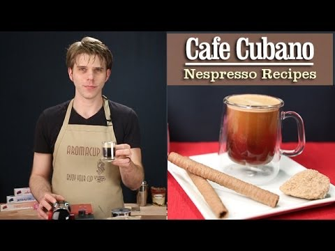 How to Make a perfect Cafe Cubano (Cuban Coffee) with the Nespresso Machine