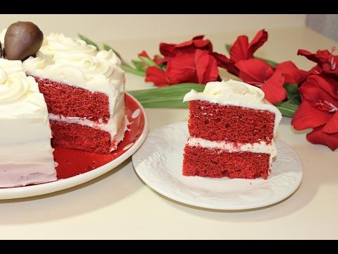 Red Velvet Cake with Cream Cheese Frosting - Malayalam Valentine's day Recipe By Pachakalokam