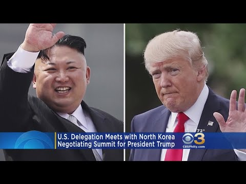 US Delegation Meets With North Korea, Negotiating Summit For President Donald Trump