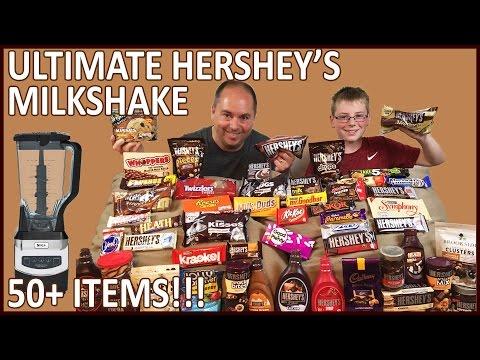 Ultimate Hershey's Milkshake, 50+ items!! : Crude Brothers
