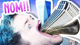 EATING AN ENTIRE CITY!!! (hole.io)