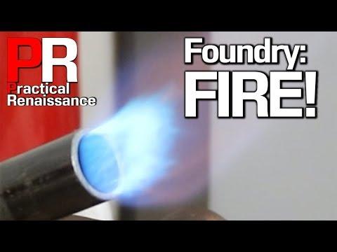 Beer Keg Foundry Part 1: The Propane Burner