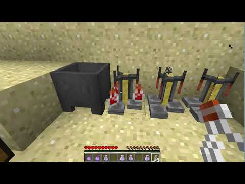 Brewing Potion of Swiftness (Minecraft)