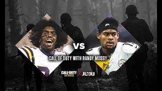 JuJu Plays Randy Moss In Call of Duty WWII