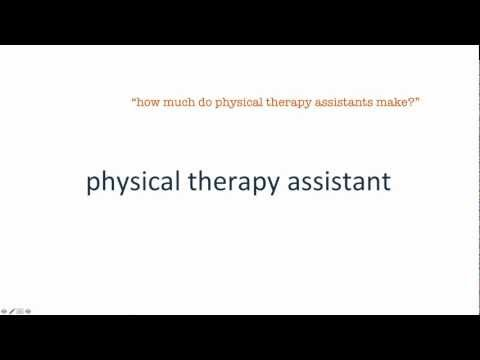 Physical Therapy Assistant - A Great Career