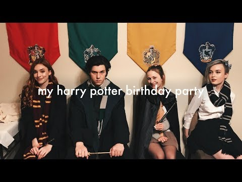 My Harry Potter Themed 18th Birthday Party