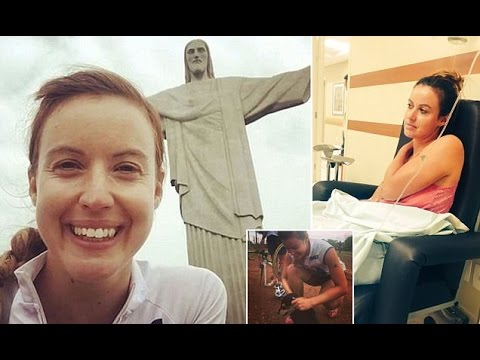 Rio Olympics presenter Charlie Webster reveals moments from dying after rare tropical disease left h