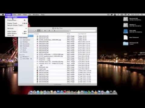 Change Default New Finder Window Location on Mac OSX