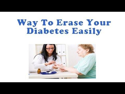 How To Erase Your Diabetes Easily