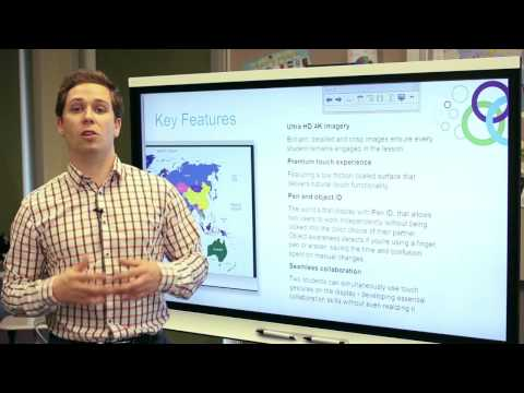 Introducing the SMART Board 6065 interactive flat panel