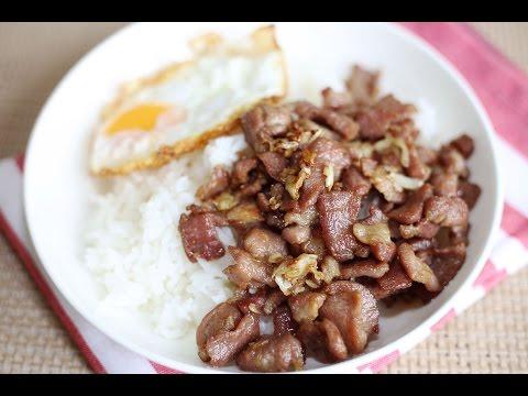 Pork Recipe : Pork with Oyster Sauce Recipe
