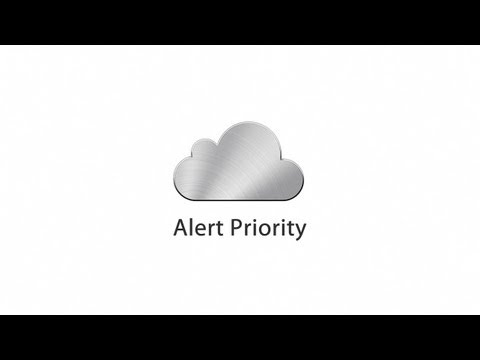 iMessage Alert Priority Concept