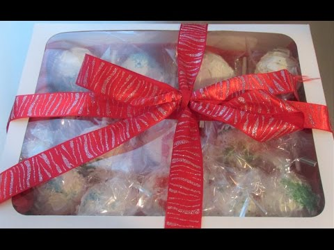 Christmas Gift Ideas - Part 1  Cake Bites