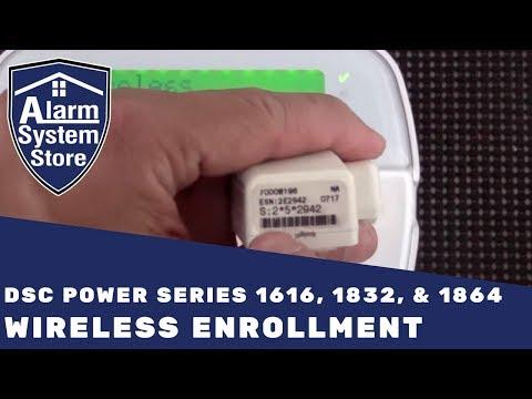 Alarm System Store Tech Video - DSC Wireless Device Enrollment