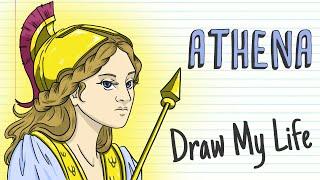 ATHENA, THE GODDESS OF WISDOM | Draw My Life