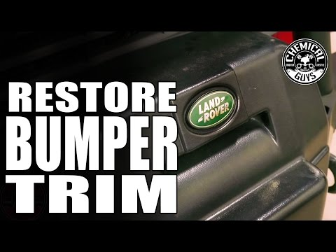 How To Repair Black Bumpers And Tires - Chemical Guys - New Look Trim Gel