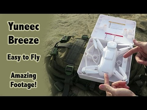 Amazing Video Footage - Yuneec Breeze - Selfie Drone - Easy to Fly
