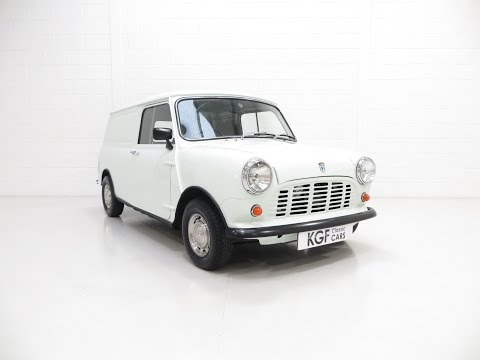 A Dependable Austin Mini 850 Light Van Ready for Show and Promotion - SOLD!