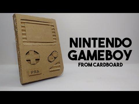 Nintendo Gameboy | DIY Gameboy From Cardboard How To Make | Nintendo Labo