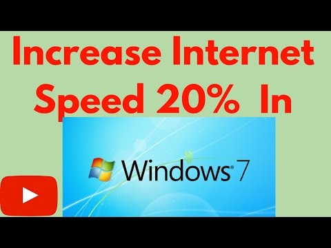 How To Increase Internet Speed windows 7- Trick working 100% 2017
