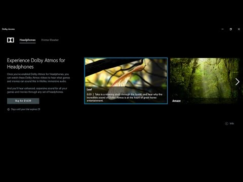 Experience Dolby Atmos Sound in Windows 10 | Spatial Sound Activation