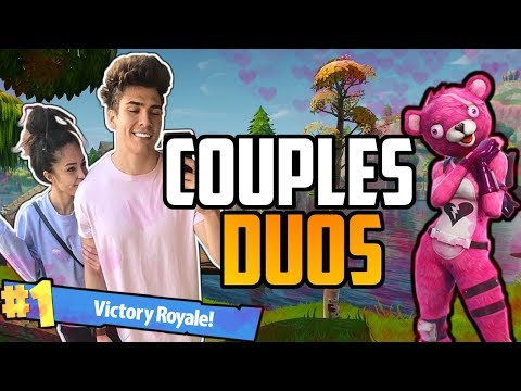 COUPLES DUOS WIN! SONII & VALKYRAE FORTNITE