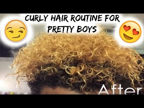 My Everyday Curly Hair Routine For Pretty Boys | Product Review of Miss Jessie's Multicultural Clear