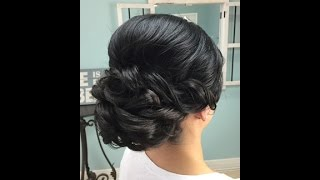 Wedding Hair Video - How To Deal With Natural Curly Hair