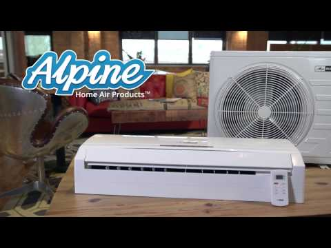 Blueridge Ductless Mini-Split AC Highlights