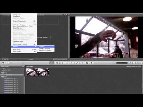 how to add videos from iphoto to imovie/rewind effect